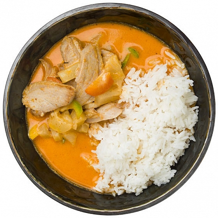 Thai duck red curry